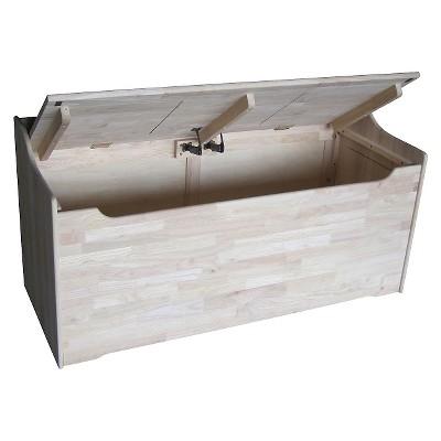 Unfiinished TC-937 International Concepts  Juvenile Storage box
