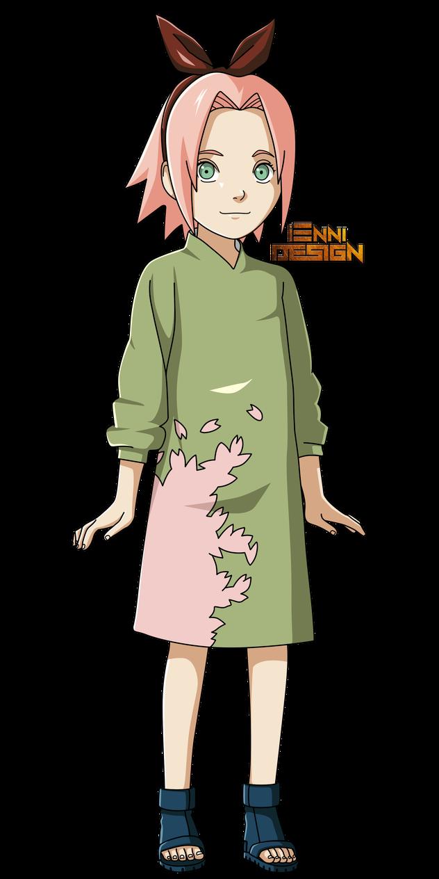 Naruto Shippuden Sakura Haruno Childhood By Iennidesign Com