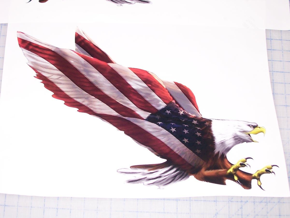 american flag eagle graphic - photo #1