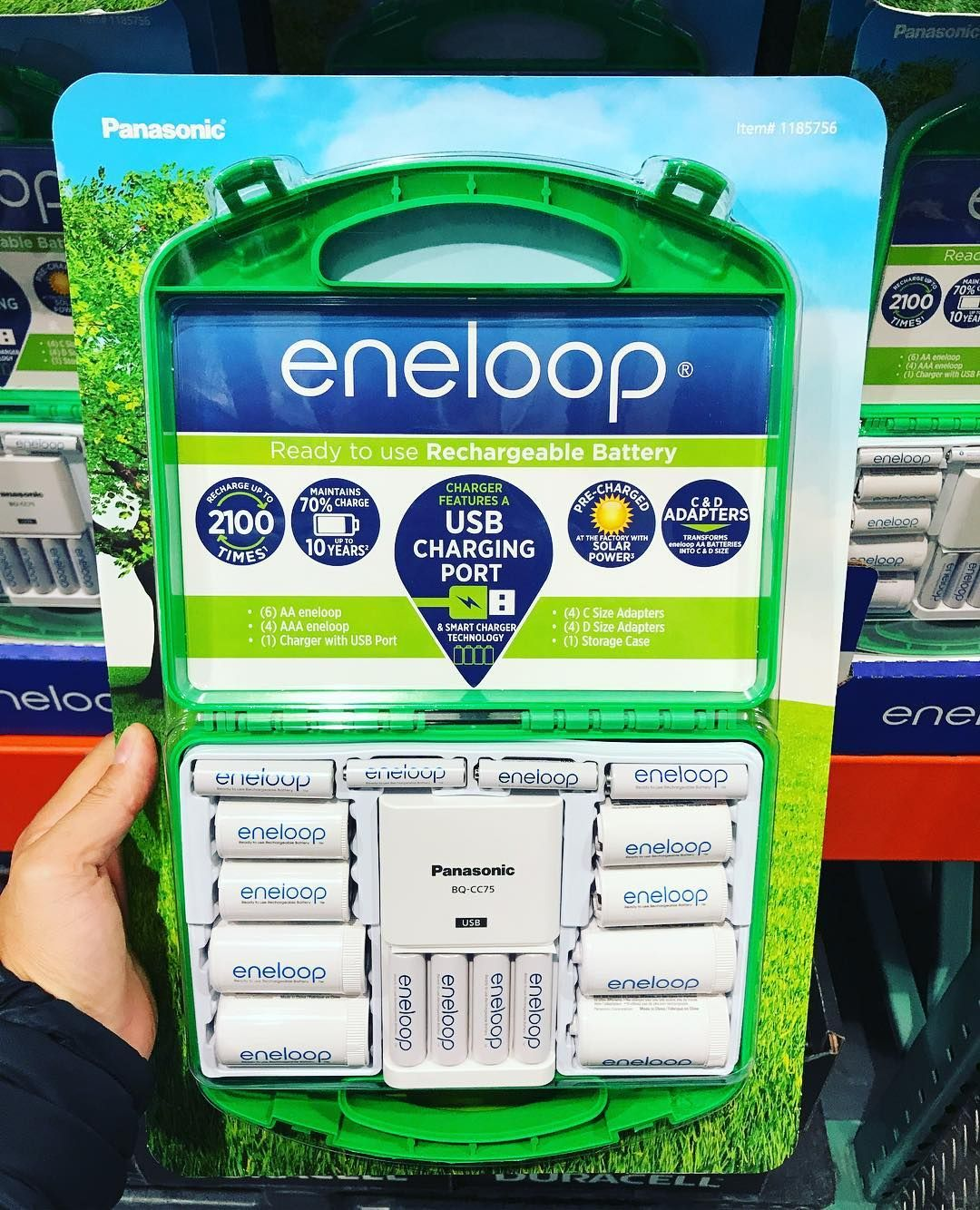 Finally Eneloop Rechargeable Batteries Kit Come In A Storage Case I Love And Swear By These Saved So Costco Deals Xbox Controller Rechargeable Batteries