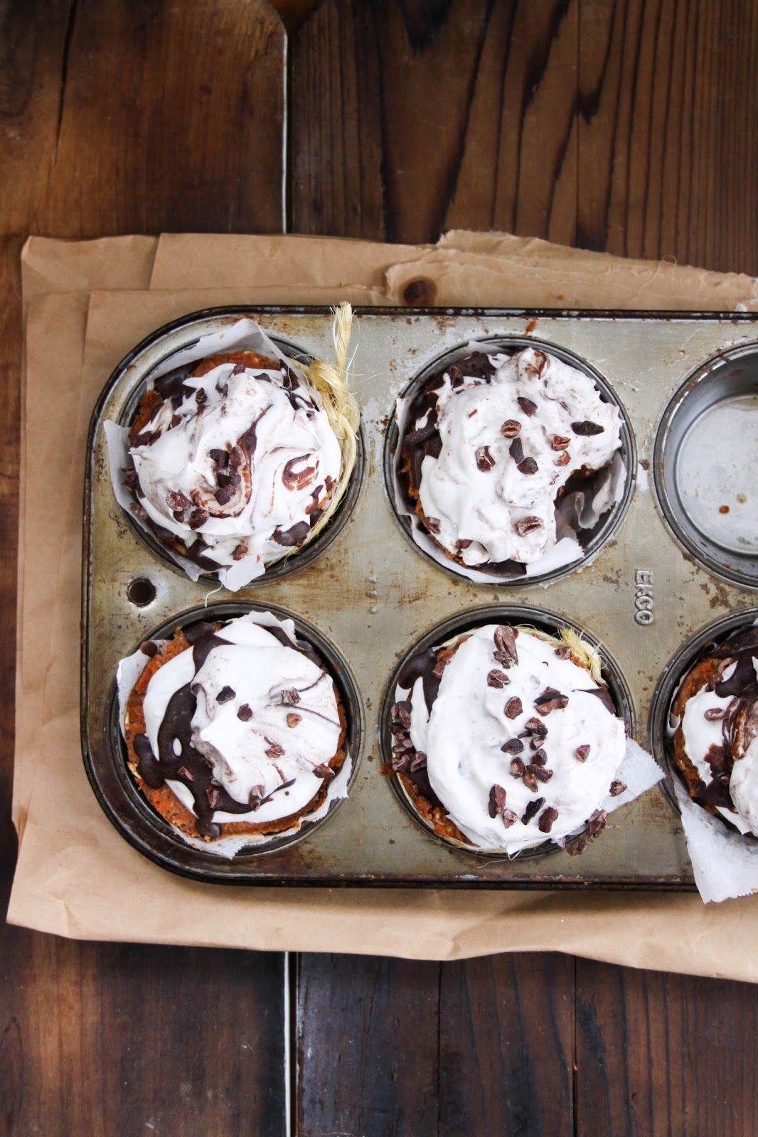 This Rawsome Vegan Life: CARROT CAKE CUPCAKES with WHIPPED COCONUT CREAM + CHOCOLATE