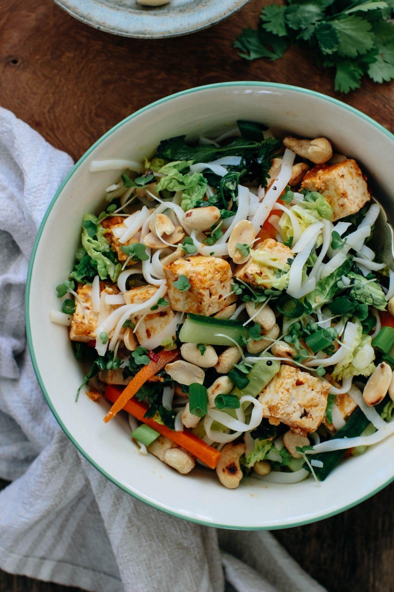 Point. tofu asian salad recipe