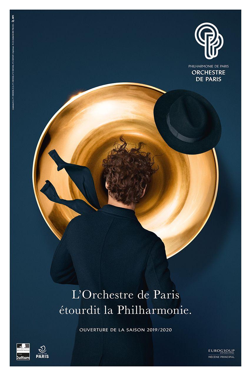Orchestre de Paris in 2020 Paris shooting, Paris, Poster