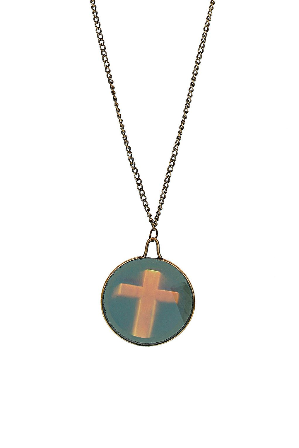 Cross hologram necklace price products we love pinterest
