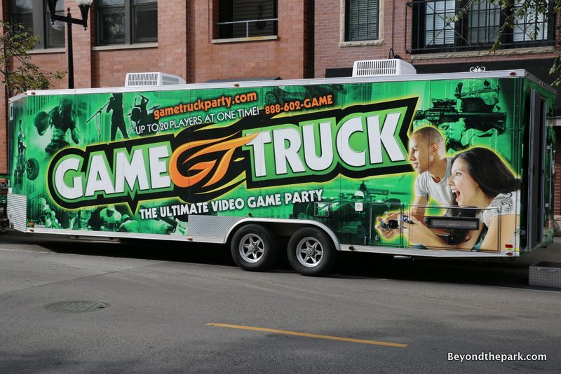 Game Truck Chicago The Coolest Birthday Party For Gamers