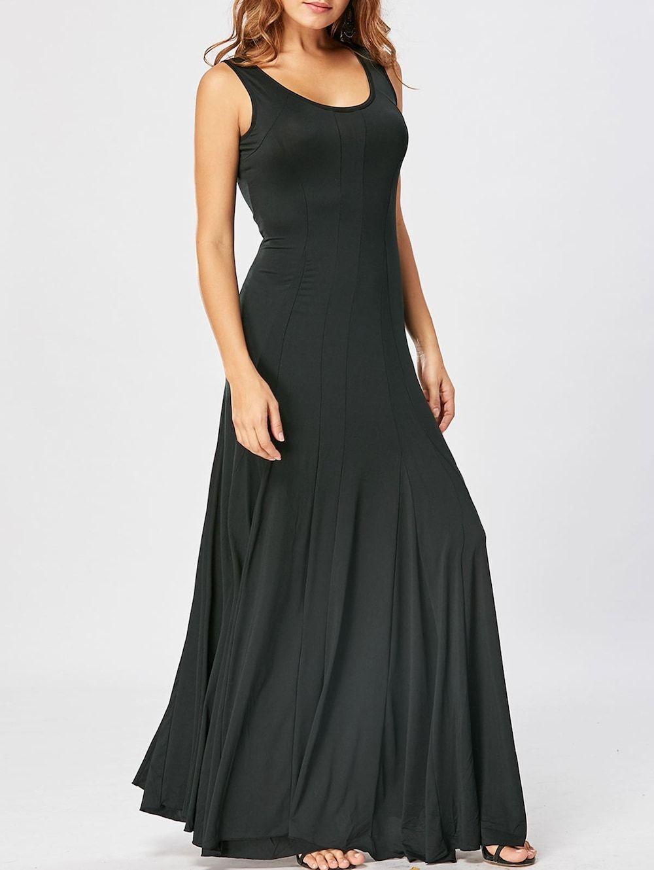 A Line Tank Maxi Dress Maxi Tank Dress Maxi Dress Dresses [ 1330 x 1000 Pixel ]