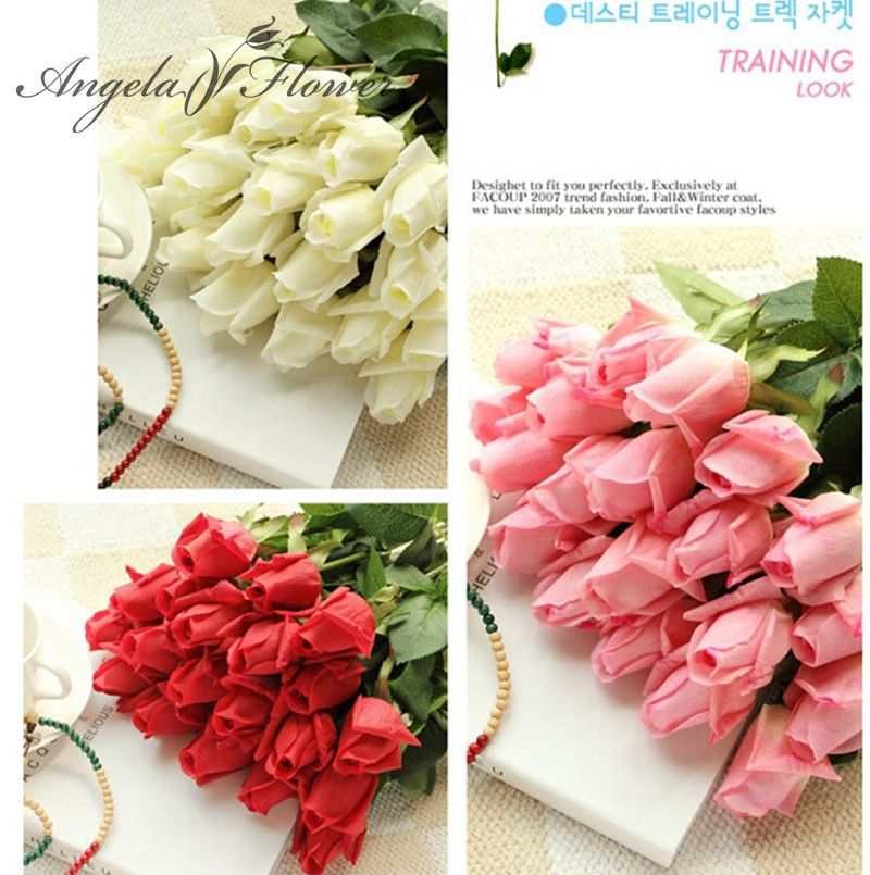 Free shipping11pcslot fresh rose artificial flowers real touch free shipping11pcslot fresh rose artificial flowers real touch rose flowers home decorations for wedding party or birthday price 1978 free mightylinksfo