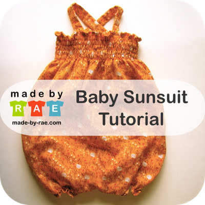 Always looking for adorable sewing tutorials! So excited to make a few of these for baby A!