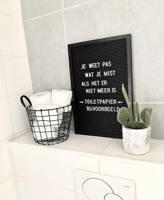 Vijf keer leuke toilet inspiratie - toilet - badkamer