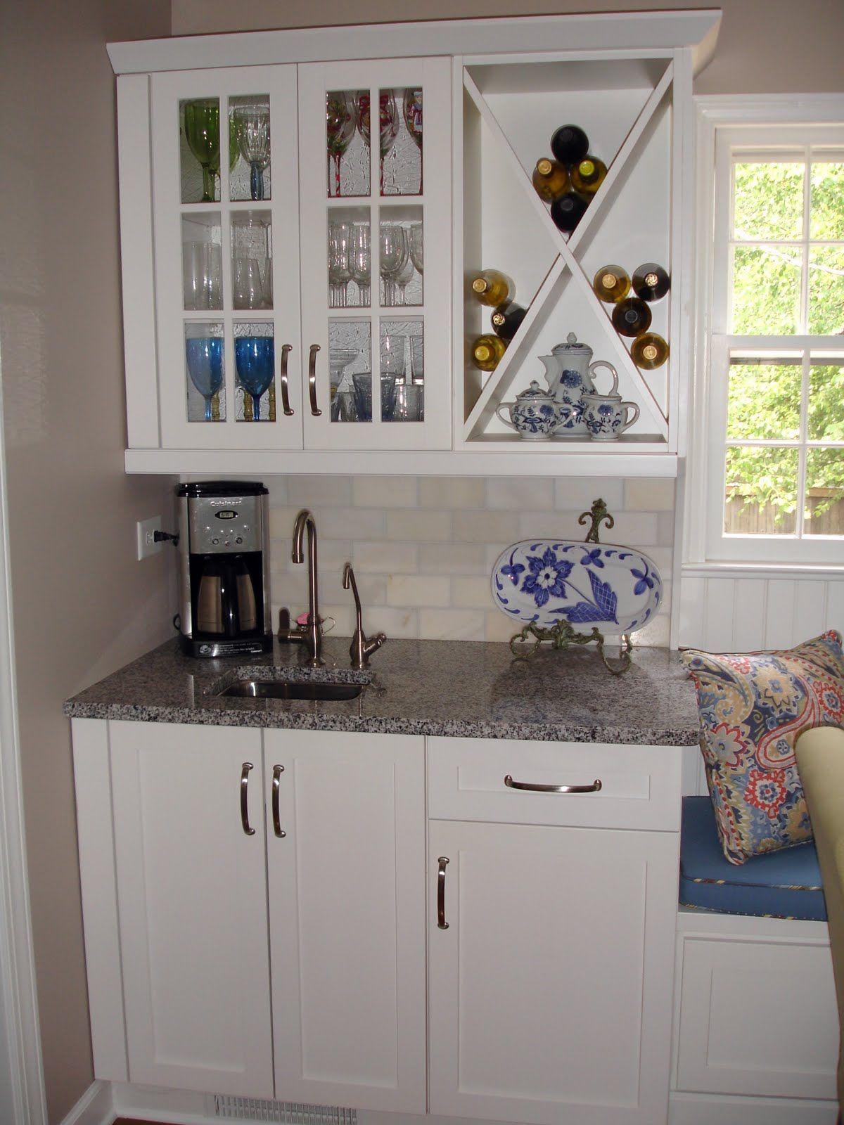 Coffee bar coffee bar home kitchen remodel white