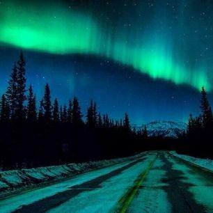 Northern Lights Coupon Book Manitoba Manitoba Canada —Joel M Aurora Borealis And