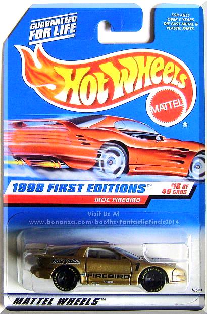 hot wheels iroc firebird 1998 first editions 16 40 collector rh pinterest com