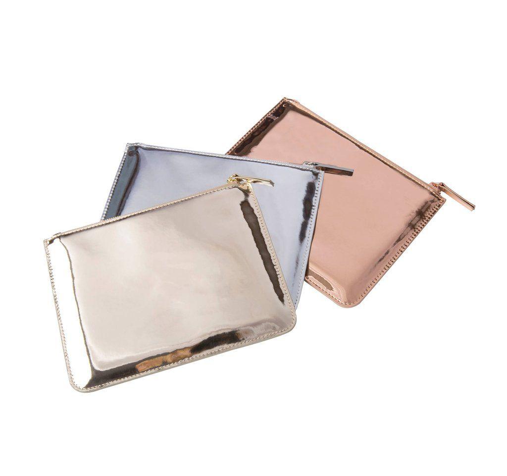 3e85b332d939 100 Chic Gifts Every Fashion Girl Will Want For Valentine s Day — All Under   50. Metallic BagsZip ...