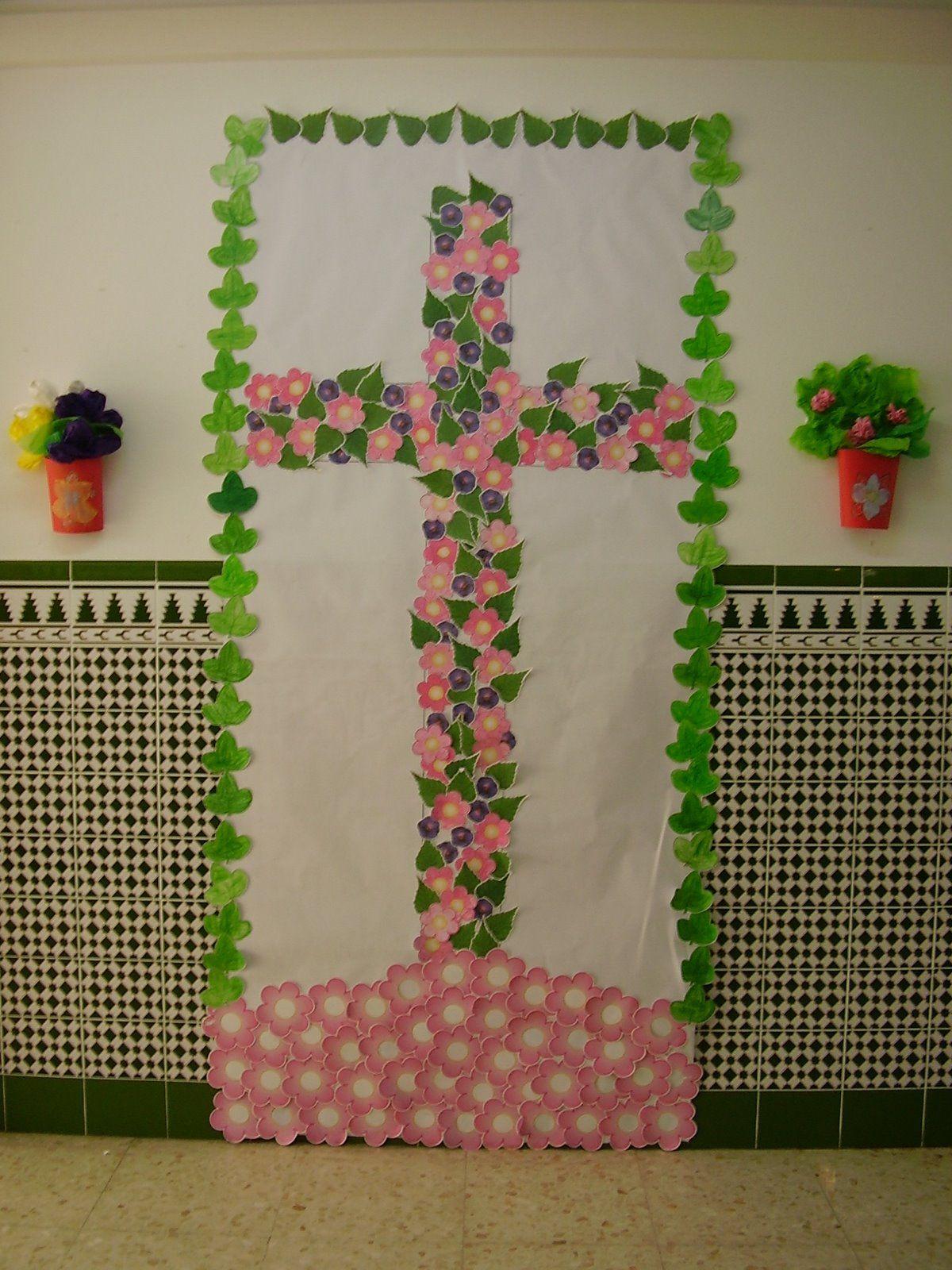 Cruz De Mayo Con Imagenes Cruces De Mayo Manualidades
