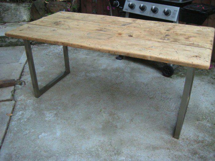 Tisch selber bauen - über 80 kreative Vorschläge! - Archzine.net ...