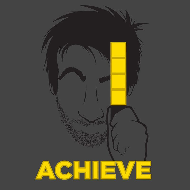AH Gavin Achieve Shirt | Crap | Achievement hunter, Rooster