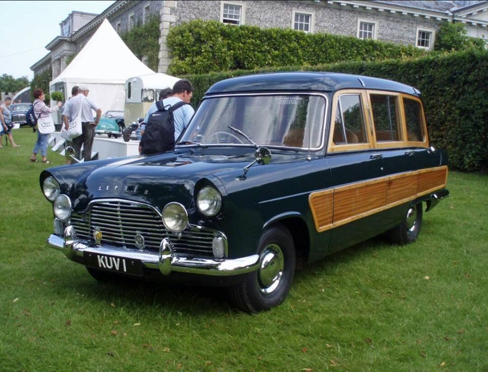 1956 Ford Zephyr Estate Car Built For Queen Elizabeth Back In