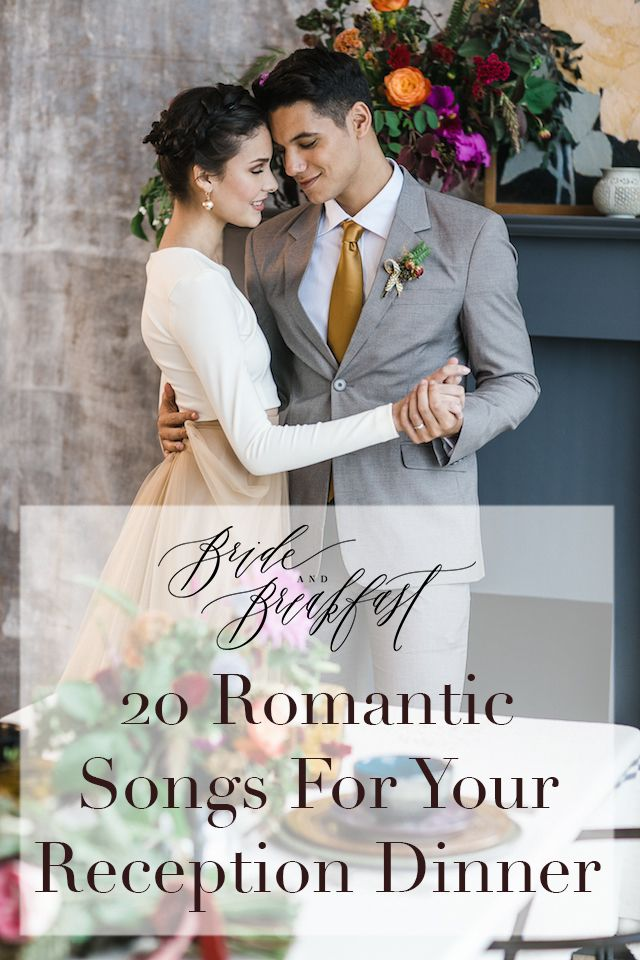 20 Songs Sweet Enough For Your Reception Dinner Wedding Playlist