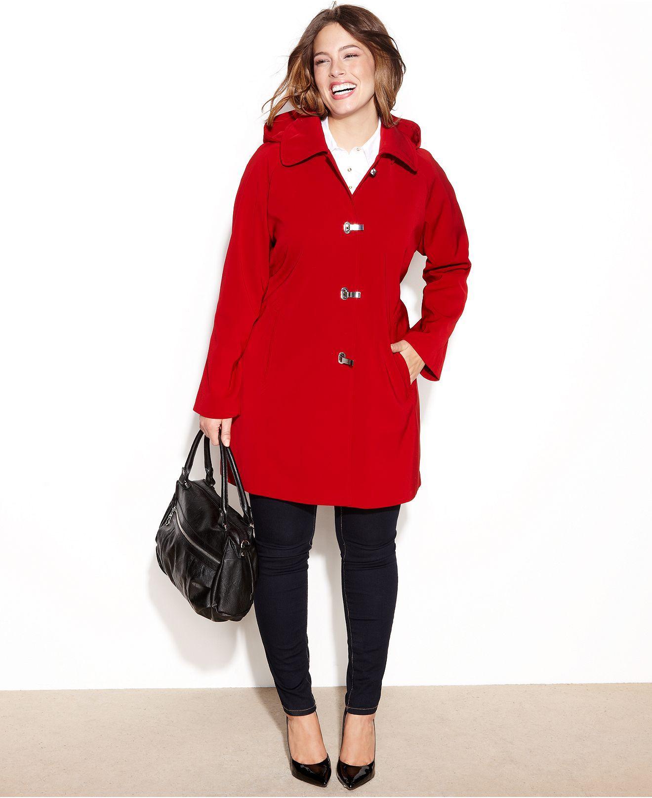 1c7c795c5fb London Fog Plus Size Coat