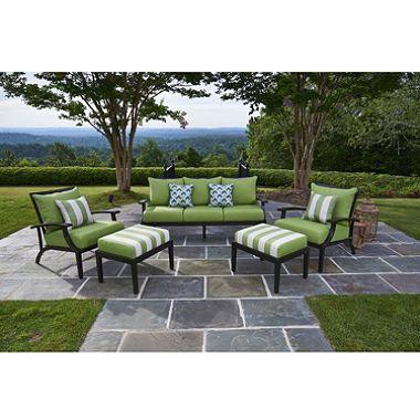 Pasadena 5 Piece Seating With Premium Sunbrella Fabric $799. Screened PatioBackyard  PatioPatio Furniture ...