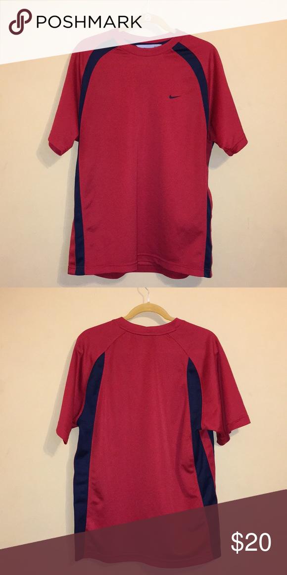 nike shirt 100 polyester