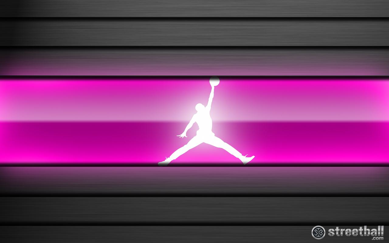 Jumpman Pink Basketball Wallpaper Streetball