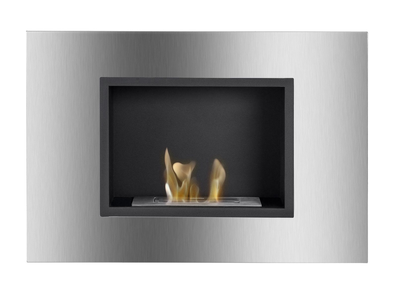 quadra recessed ventless ethanol fireplace products fireplaces
