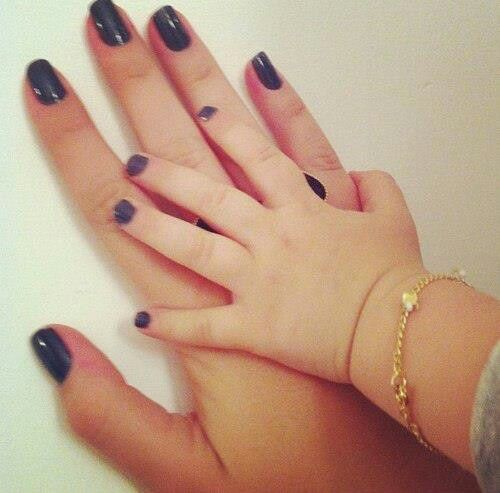 always use chemical free natural nail polish for babies   Adorable ...