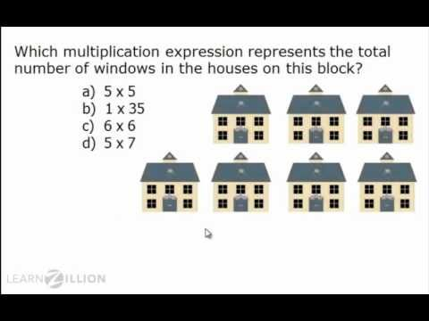 Understand multiplicion problems using equal groups - 3.OA.3 - YouTube