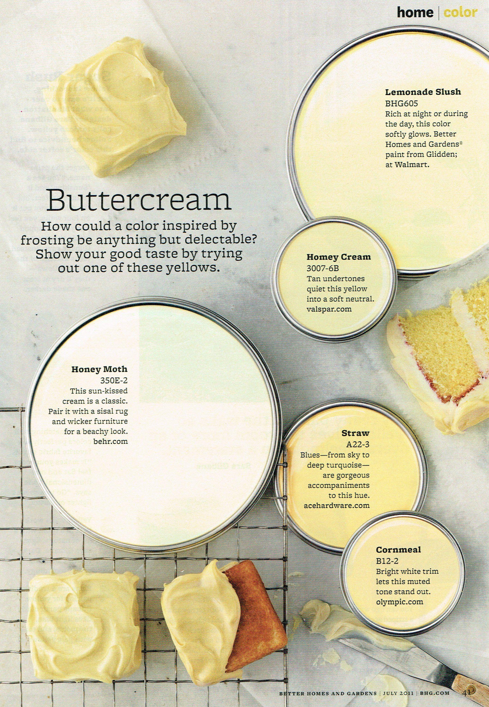 Buttercream p1 | Colors of Life.... | Pinterest | House, Decorating ...