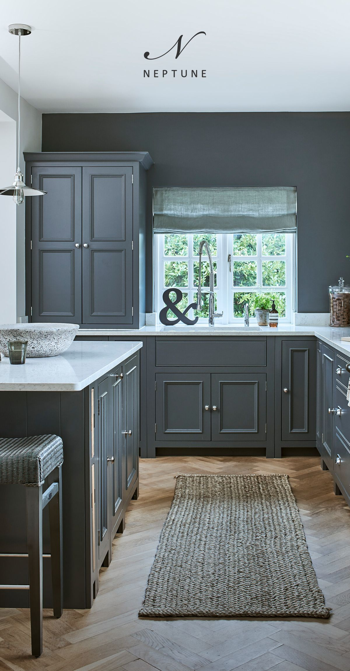 Handpainted grey kitchens from Neptune in 2020 Classic