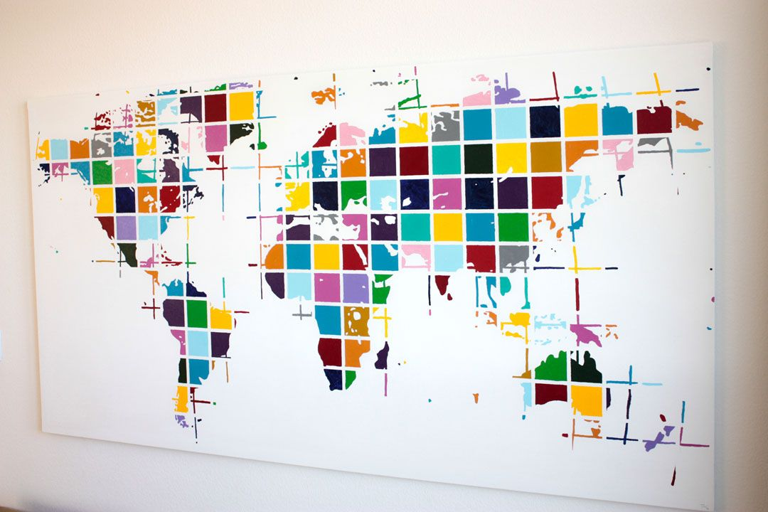 Worldmap by tannie m smith the smithocracy love it art worldmap by tannie m smith the smithocracy love it gumiabroncs Image collections