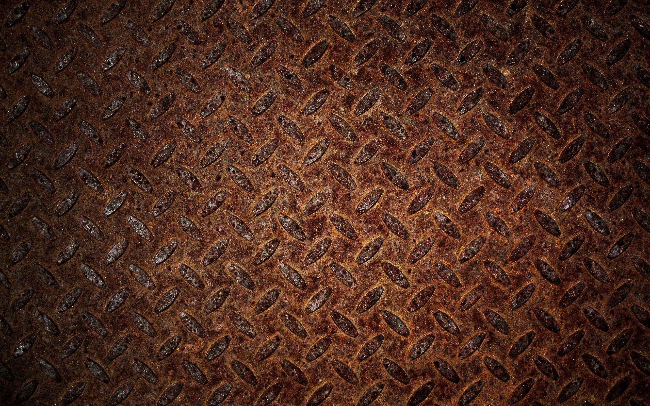 Texture Under The Rusty Sheet 2560x1600 Wallpapers Download