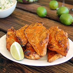 20 Minute Chipotle Lime Marinade for Grilled Chicken is simple & flavorful. Sweet honey, spicy chiles, & tart lime create a yummy marinade.