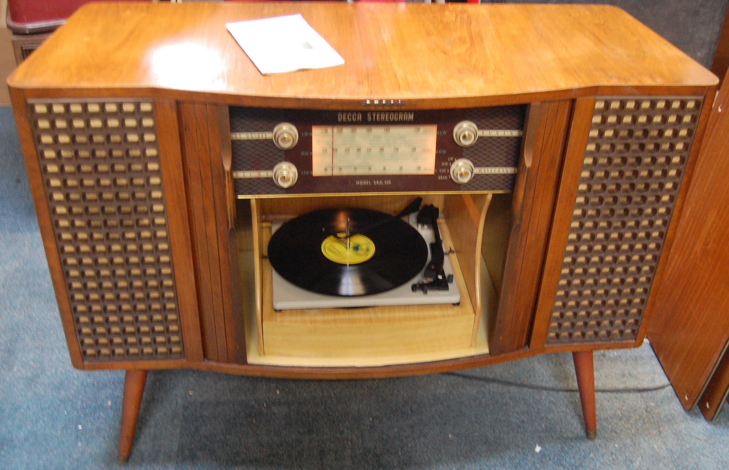 Fab 1960s Decca SRG 500 radiogram - restored & gone to a new