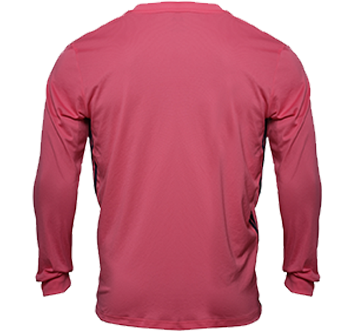 Custom Mens Real Madrid Away Long Sleeve Shirt 20 21 Pink In 2020 Long Sleeve Tshirt Men Real Madrid Long Sleeve Shirts