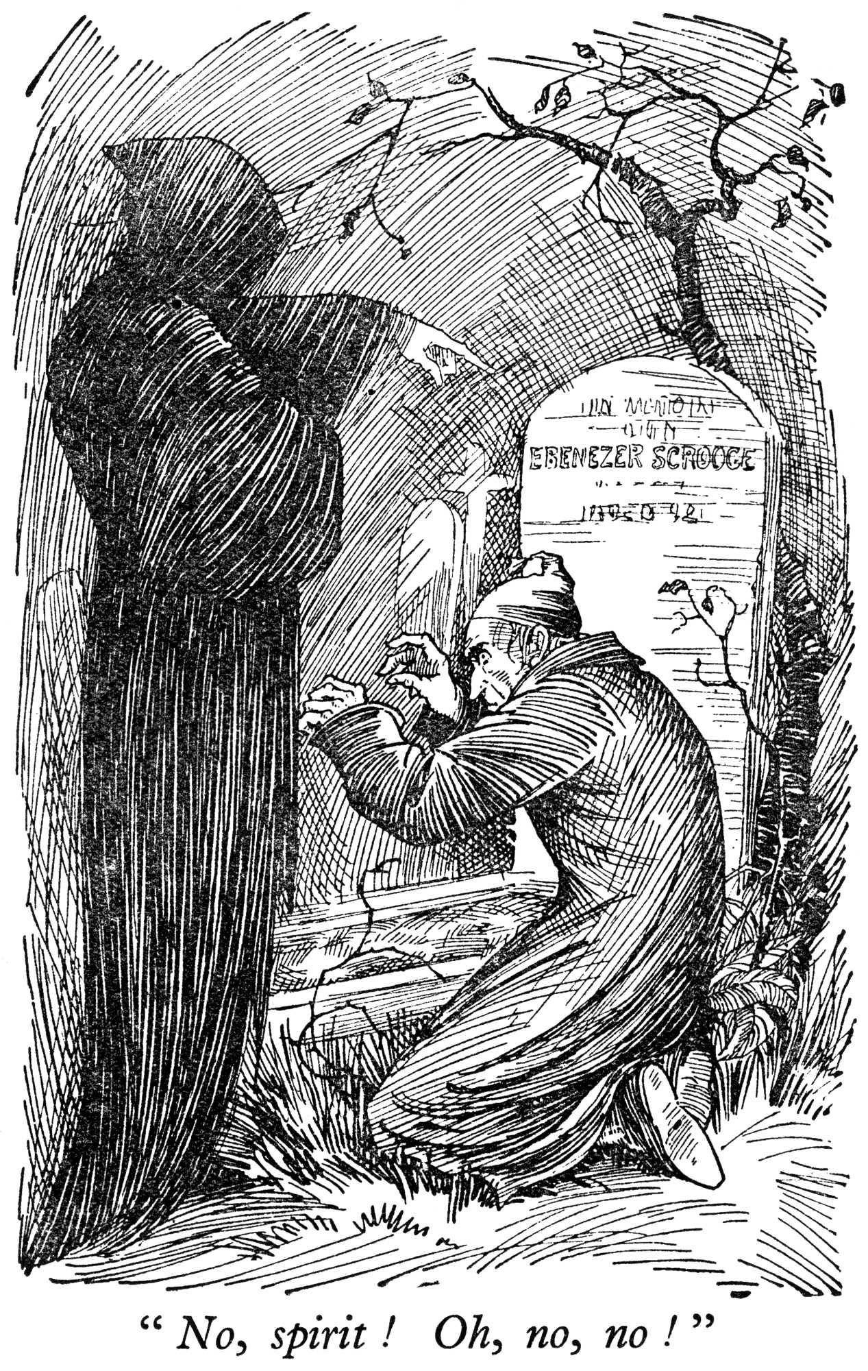 A Christmas Carol - image from a 1933 British children\'s annual ...