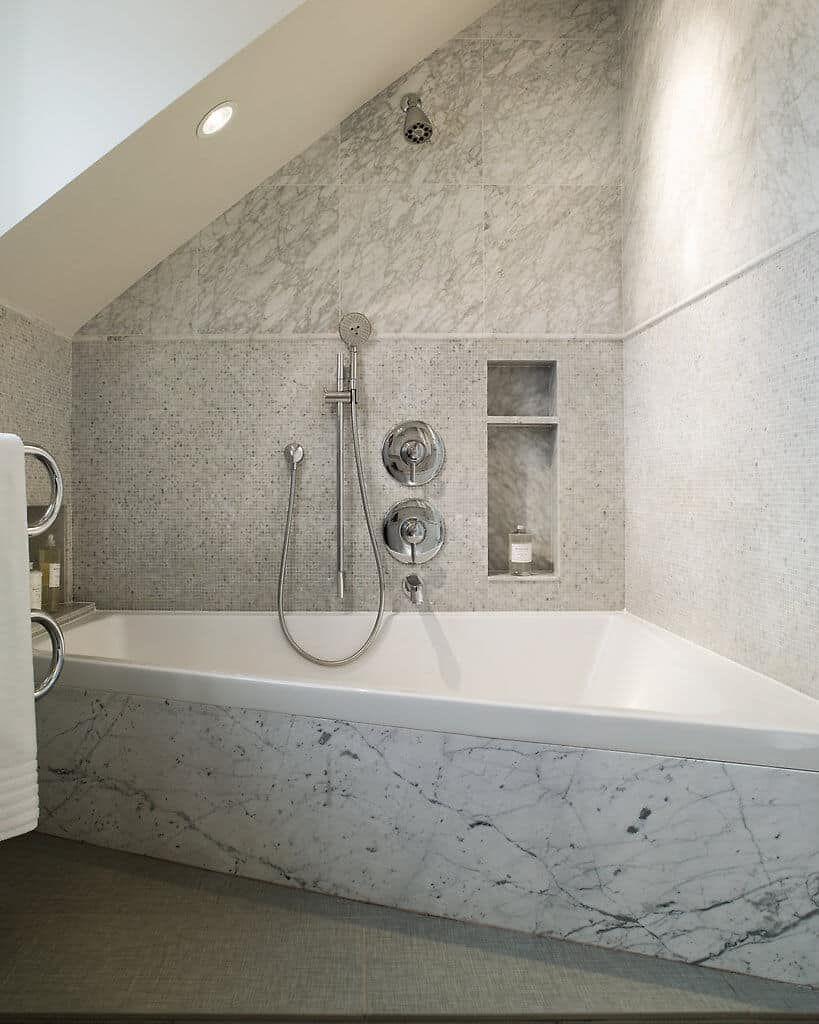 65 Transitional Style Master Bathroom Ideas (Photos)