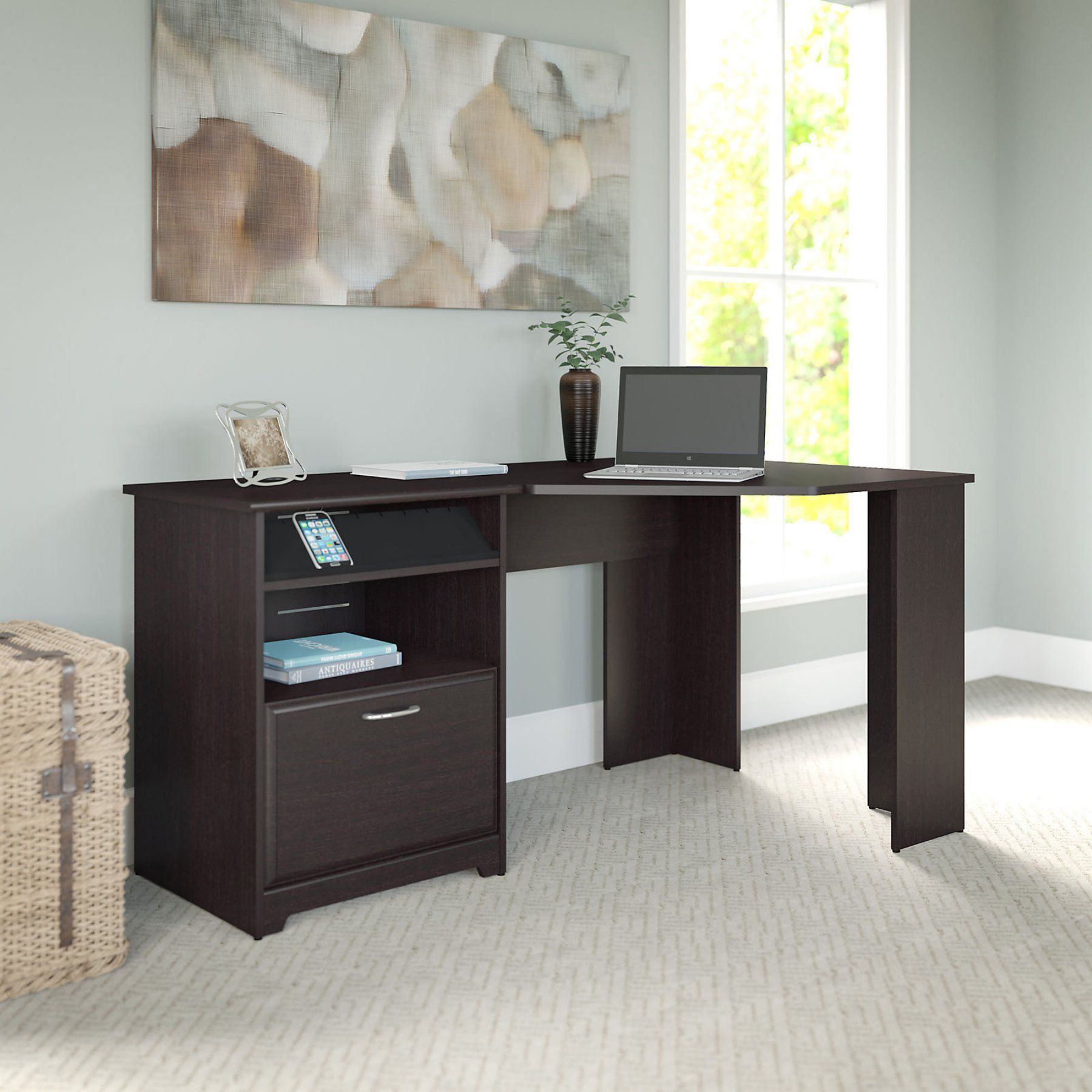 Cabot corner desk wc products