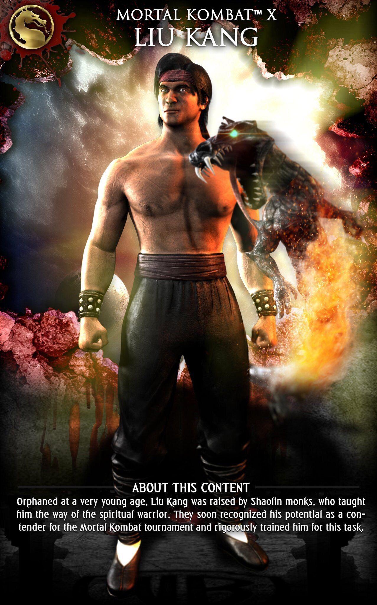 Mortal kombat x mobile mortal kombat characters mortal