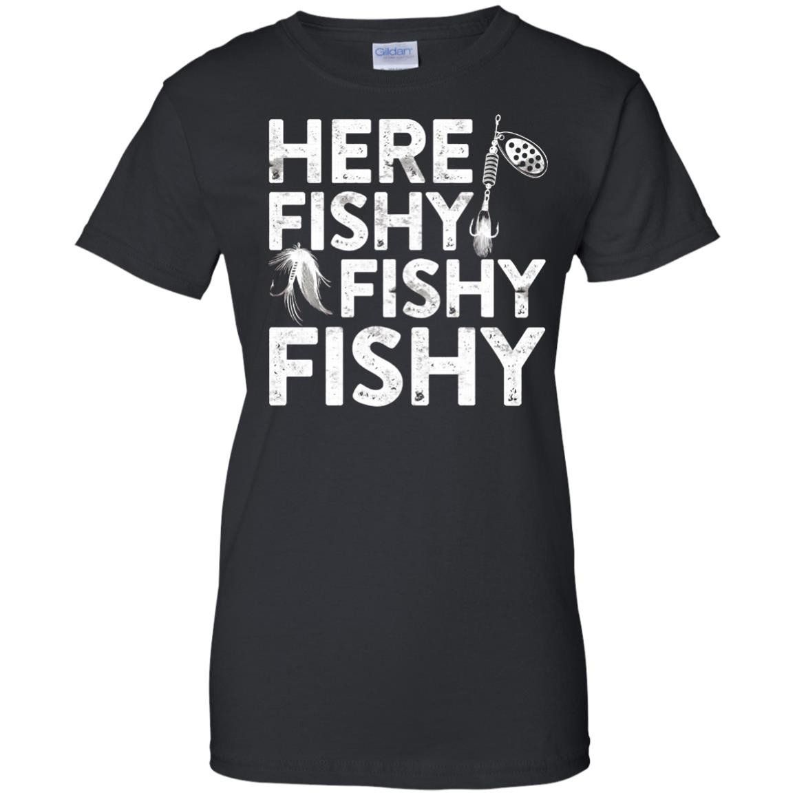 ca14d32b3 Here Fishy Fishy Fishy T-Shirt Funny Fisherman Shirt | Products | T ...