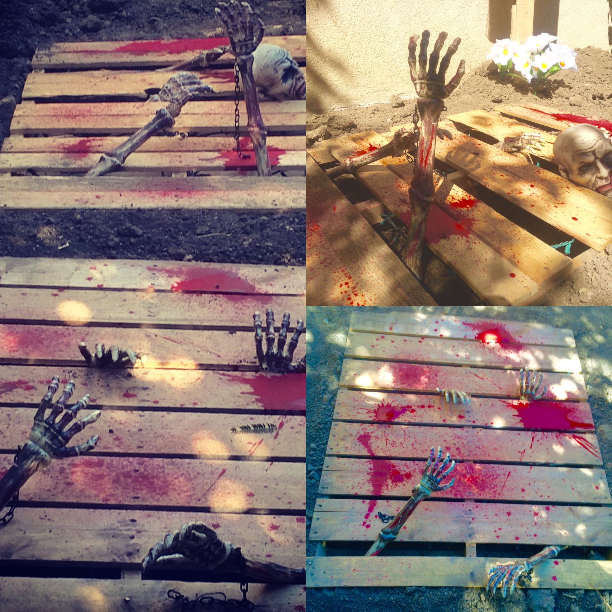 MAKE YOUR OWN ZOMBIE PITS! Dig Some Dirt, Staple Red Xmas
