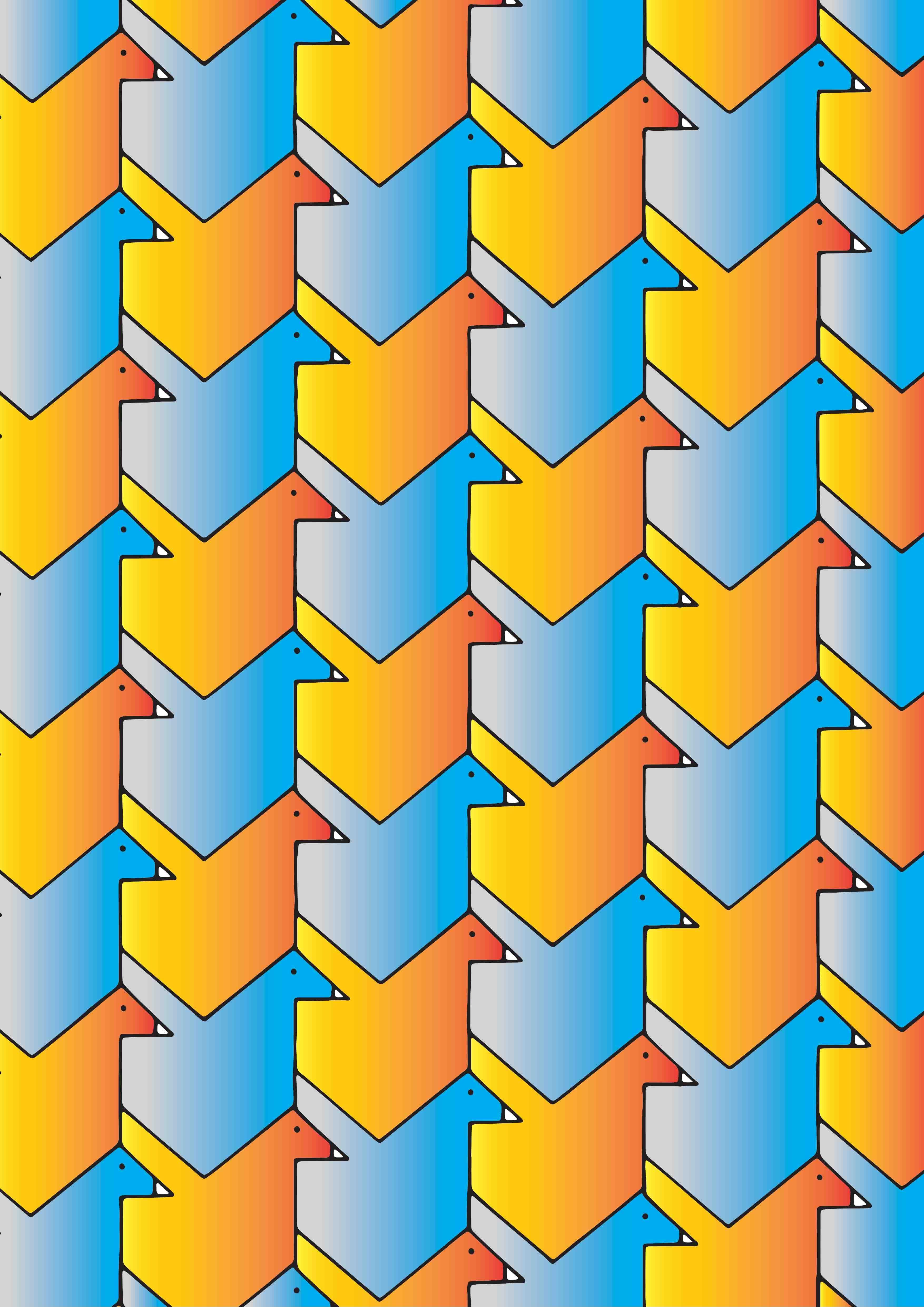Bird Translation Tessellation. | tessellations lessons | Pinterest