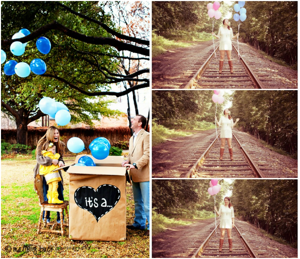 17 Best images about Gender Reveal Parties – Baby Gender Announcements