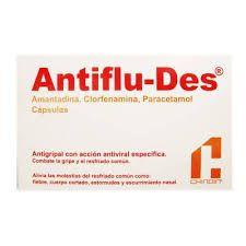 Antiflu des, la mejor medicina de los laboratorios Chinoin. http://www.chinoin.com
