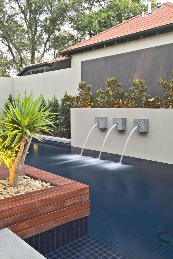 Contemporary Backyard With Asian Themes On Drake Street Melbourne By Cos Design 03