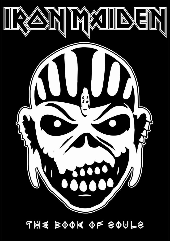 The Book Of Souls By Crusader Art Iron Maiden Iron Maiden Eddie Heavy Metal