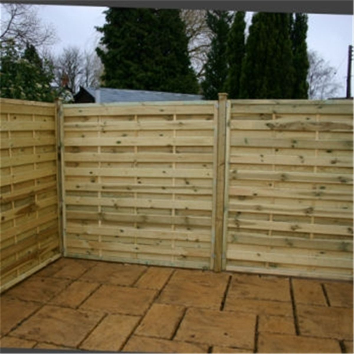 Horizontal Fence Panels Uk di 2020