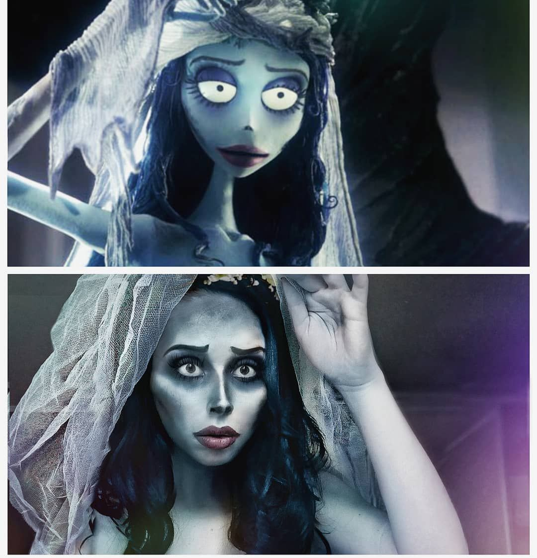 DIY Corpse Bride Emily Costume