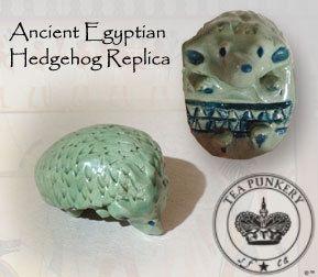 Ancient Egyptian Hedgehog Replica 1900  1700 B.C.E by TeaPunkery, $15.00, Etsy